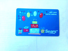 SEARS CANADA COLLECTIBLE BIRTH DAY CAKE Gift Card New No Value