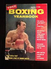 Vintage 1959 BOXING YEARBOOK - Boxer CARMIN BASILIO on the Cover