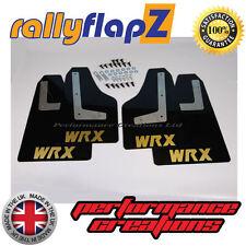 rallyflapz SUBARU IMPREZA Hatchback (08-14) PARASPRUZZI NERO WRX oro 4mm PVC