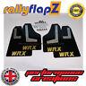 Rallyflapz SUBARU IMPREZA Hatchback (08-14) guardafangos negro WRX ORO 4mm PVC