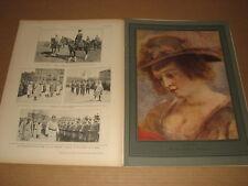 *** L'Illustration n° 4018-4019 (06-13/03/1920) - Portraits au pastel de Baschet