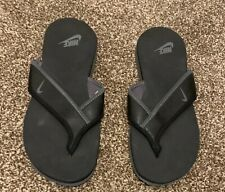 Nike pool sliders flip flops = Size 11 = Black