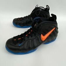 "Nike Air Foamposite Pro ""Knicks"" SAMPLE 624041-010 Men's Size 9.5"
