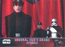 Star Wars Force Awakens Chrome Refractor Base Card #56 General Hux's Grand
