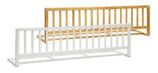 Bettgitter Holz FLAMO 140x42cm Rausfallschutz Bettschutzgitter Gitter Kinderbett