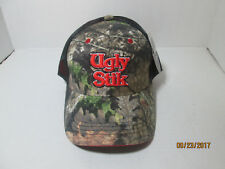 Ugly Stik Trucker Cap Hat, Adjustable, Camo Mossy Oak  velcrow back