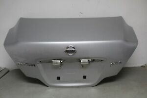2008 2009 2010 2011 2012 2013 NISSAN ALTIMA COUPE TRUNK LID OEM SILVER