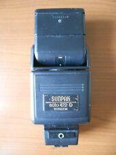 FLASH  SUNPAK  AUTO 422D  THYRISTOR   con adattatore   MX-1D  o  MX- 2D