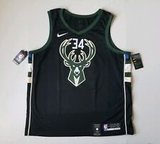 Nike Giannis Antetokounmpo Milwaukee Bucks Swingman Jersey 877212 010 Mens 2XL