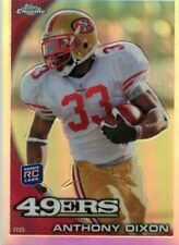 Anthony Brown 2010 Topps Chrome Rookie Refractor C28 Mississippi State