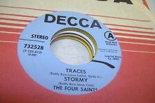 Pop Promo Nm! 45 The Four Saints - Traces / Stormy / What Is A Woman / How To Ha