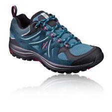 Chaussures et bottes de randonnée bleus Salomon pour femme
