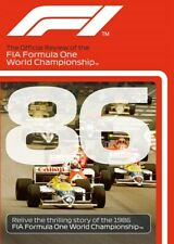 FIA Formula One World Championship - Official review 1986 New DVD F1 Mansell