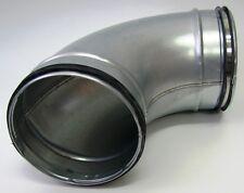 Bogen Winkel 90° NW100/125/150/160/200/224/250/300mm Lippendicht.Wickelfalzrohr