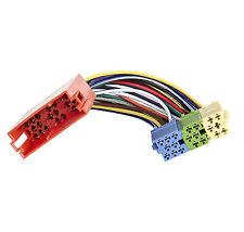 Mini ISO Adapter Kabel für AUDI A3 A4 A6 Verlängerung Verteiler Stecker