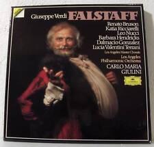 VERDI Falstaff GIULINI-BRUSON-RICCIARELLI.. GERMANY Digital 3LP DGG 2741020