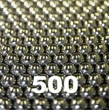 """500 1/8"""" Inch G25 Precision 440 Stainless Steel Bearing Balls"""