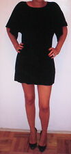 NWT MISS DAVENPORTE $495 Bergdorf Goodman Black Silk Mini Dress - 2