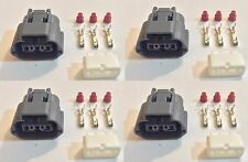 4x Plug connector harness pigtail for Nissan and Mazda ignition coils w/out wire