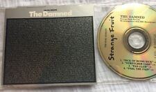 The Damned - The Peel Sessions Cd Oop 1988 Promo Strange Fruit Fan Club Punk
