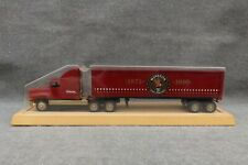 Winross Winston Cup Racing 1971-1990 Truck Trailer Display / Wood Stand 20th