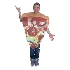 Unisex Pizza Costume For Adult Funny Novelty Stag Fancy Dress Outfit - Food