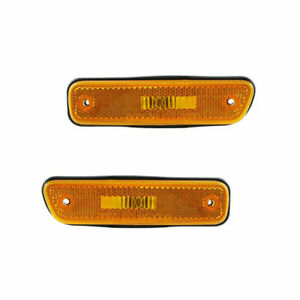 FIT SUZUKI GRAND VITARA 1999-2005 FRONT BUMPER REFLECTOR LAMP RIGHT & LEFT PAIR