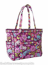 VERA BRADLEY~GET CARRIED AWAY LARGE TOTE BAG~FLUTTERBY~CARRY-ON~BNWT!