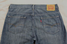 Levi's 569 Loose Straight Mens Size 34 Medium Wash 100% Cotton Jeans Inseam 30