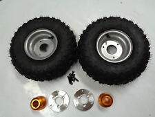 6INCH WHEEL WITH HUB & ADAPTER FOR 30MM AXLE PAIR