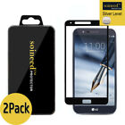 2-Pack SOINEED LG Stylo 3 Plus Full Cover Tempered Glass Screen Protector