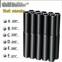 10Pcs Golf Steel Graphite Shaft Extension Golf Shaft Extender for Golf Shaft