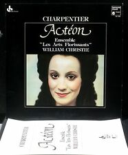Charpentier Actéon Arts Florissants W.Christie LP & CV NM