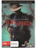Justified : Season 4 : NEW DVD