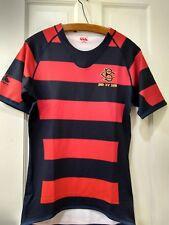 Canterbury Mens Rugby Shirt Red Stripe  Teamwear Blue Red 2015 Size Medium NWT