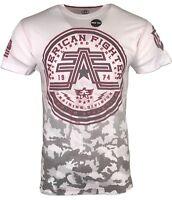 AMERICAN FIGHTER Mens T-Shirt BRISTOL DT Athletic Premium Biker MMA Gym UFC $50