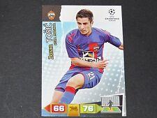 TOSIC CSKA MOSCOU UEFA PANINI CARD FOOTBALL CHAMPIONS LEAGUE 2011 2012