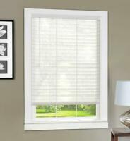 Achim Home Furnishings Light Vane 2-Inch Slat Blind, 27 by 64-Inch, White
