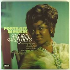 """2x12"""" LP - Felicia Weathers - Portrait in Musik - A2648h - washed & cleaned"""