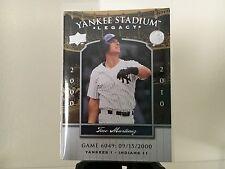 TINO MARTINEZ ~2008 Upper Deck Yankee Stadium Legacy~ Card # 6049