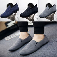 Canvas shoes Fashion Men's Shoes Slip-on Breathable Casual Sh NT