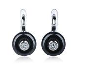 Boucle d'oreilles Femme Nouveau Design Boucles Oreille Or ou Argent en Céramique