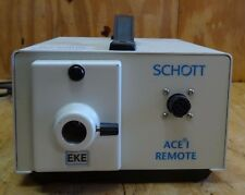 SCHOTT ACE I ILLUMINATOR  / LIGHT SOURCE  WITH  NO REMOTE