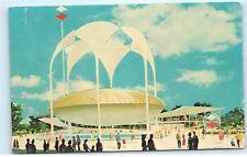 *Johnson's Wax Pavilion New York Worlds Fair Artist Rendition Postcard B50