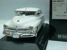 WOW EXTREMELY RARE Mercury Monterey Hardtop V8 Coupe 1950 Cream 1:43 Minichamps
