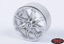New RC4WD Raceline Octane 2.2 Beadlock Wheels Silver (4) Z-W0188
