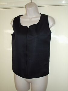 JOB LOT 4 X BLACK NEOPRENE WORKOUT EXERCISE VEST TOP SIZE 38 IN CHEST