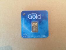 Nadir 0.25 GRAM 24k GOLD. Very Rare! Cheapest on Ebay!