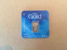 Nadir 0.25 GRAM 24k GOLD. Very Rare! Cheapest on Ebay!