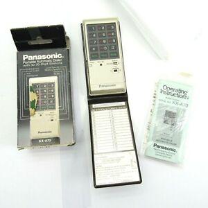 New Open Box Panasonic Automatic Dialer KX-A70 Vintage Portable Easa-Phone